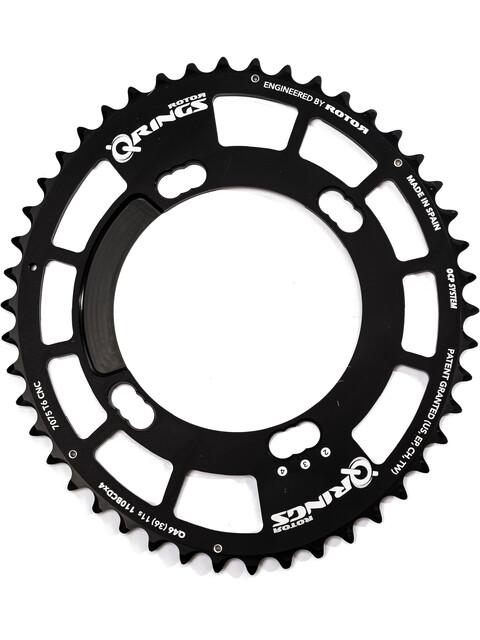 Rotor Q-Ring Road Chainring 110mm 4-arm inside 38 teeth black